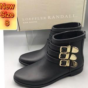 Loeffler Randall Women's Rain bootie NWT 8